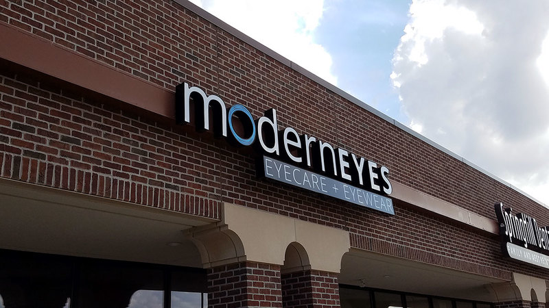 ModernEyes Outdoor Sign
