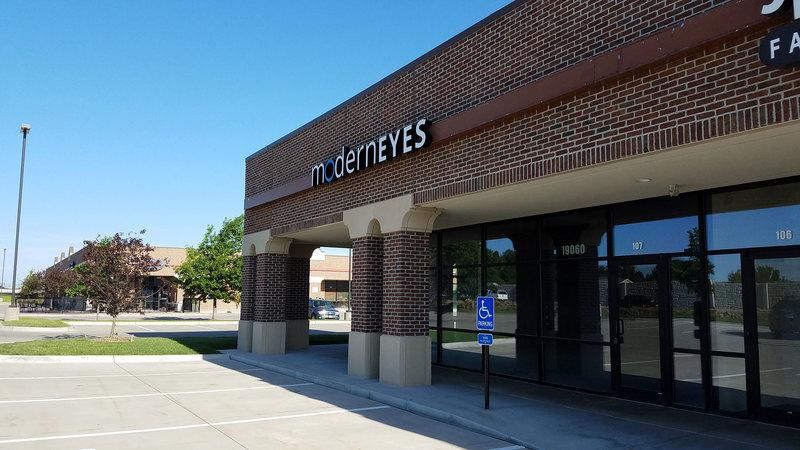 Front building signage