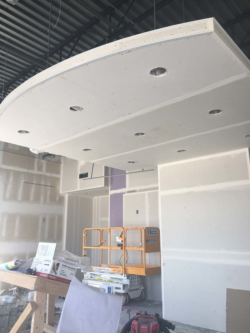 Drywall Floating Cloud Ceiling