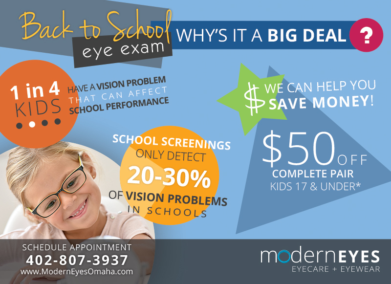 Back to School Kids Glasses Savings